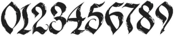 LHF Dark Horse 2 Regular otf (400) Font OTHER CHARS