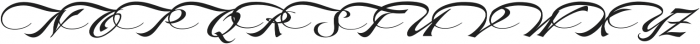 LHF Marie Script Classic otf (400) Font UPPERCASE