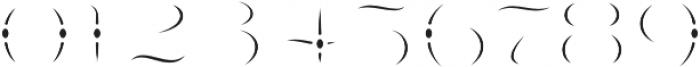 LHF Nugget Inset Regular otf (400) Font OTHER CHARS