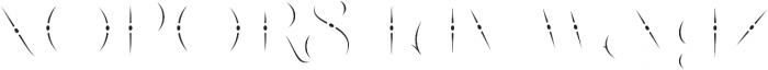 LHF Nugget Inset Regular otf (400) Font UPPERCASE