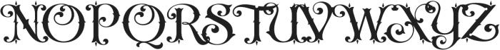 LHF Nugget Regular Regular otf (400) Font UPPERCASE