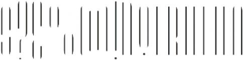 LHF Speakeasy Inset Regular otf (400) Font OTHER CHARS