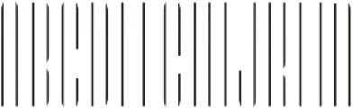 LHF Speakeasy Inset Regular otf (400) Font UPPERCASE