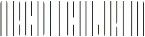 LHF Speakeasy Inset Regular otf (400) Font LOWERCASE