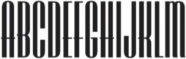 LHF Speakeasy Regular Regular otf (400) Font UPPERCASE
