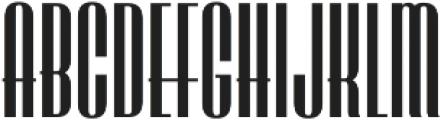 LHF Speakeasy Regular Regular otf (400) Font LOWERCASE