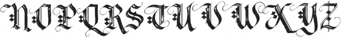 LHF Tributary Distressed otf (400) Font UPPERCASE