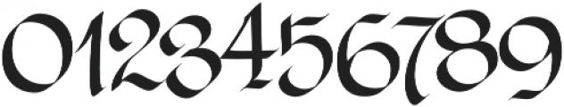 LHF Tributary Regular Regular otf (400) Font OTHER CHARS
