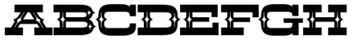 LHF Aledo Decorative Font UPPERCASE