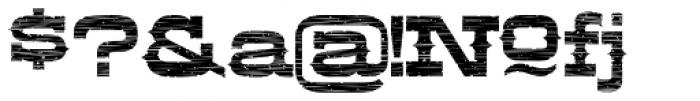 LHF Aledo Distressed Font OTHER CHARS