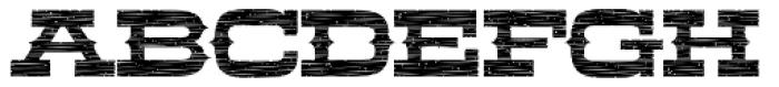LHF Aledo Distressed Font UPPERCASE