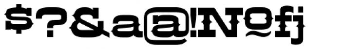 LHF Aledo Regular Font OTHER CHARS