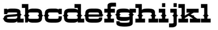 LHF Aledo Regular Font LOWERCASE