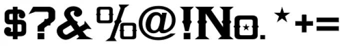 LHF Amarillo Bold Font OTHER CHARS
