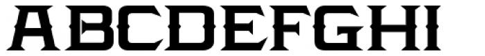 LHF Amarillo Bold Font UPPERCASE