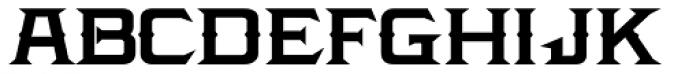 LHF Amarillo Bold Font LOWERCASE