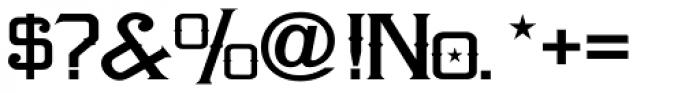 LHF Amarillo Font OTHER CHARS