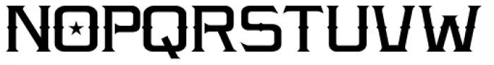 LHF Amarillo Font UPPERCASE