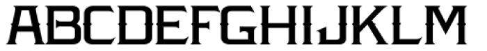 LHF Amarillo Font LOWERCASE