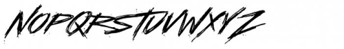 LHF Asylum Font UPPERCASE