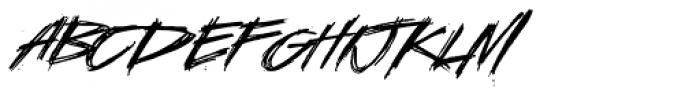 LHF Asylum Font LOWERCASE