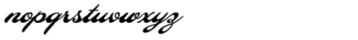 LHF Ballpark Script Font LOWERCASE