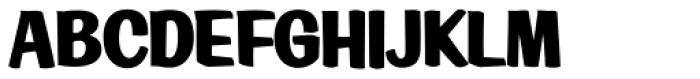 LHF Big Bob Regular Font UPPERCASE