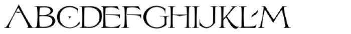 LHF Birgitta Font UPPERCASE