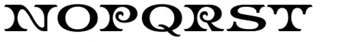 LHF Bootcut Regular Font UPPERCASE