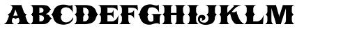 LHF Boston Truckstyle SC Font LOWERCASE