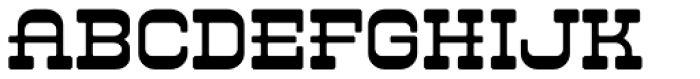 LHF Branding Iron Regular Font LOWERCASE