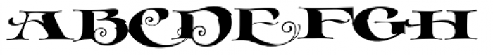 LHF Cafe Corina Font UPPERCASE