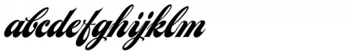 LHF Chicago Script Font LOWERCASE
