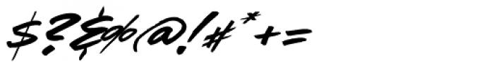 LHF Comic Caps 2 Slant Font OTHER CHARS