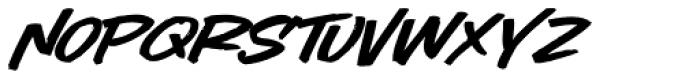 LHF Comic Caps 2 Slant Font LOWERCASE