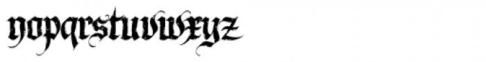 LHF Dark Horse 1 Font LOWERCASE