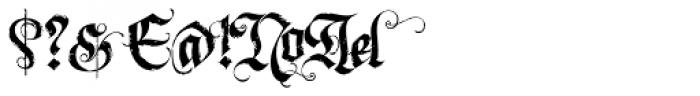 LHF Dark Horse 2 Font OTHER CHARS