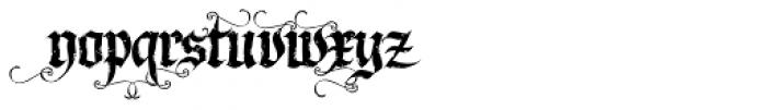 LHF Dark Horse 2 Font LOWERCASE