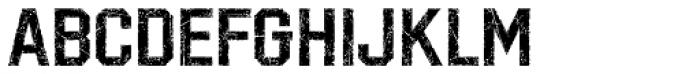 LHF Distressed Block Regular Font UPPERCASE