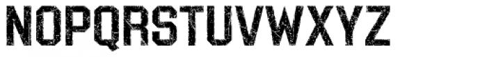 LHF Distressed Block Regular Font LOWERCASE