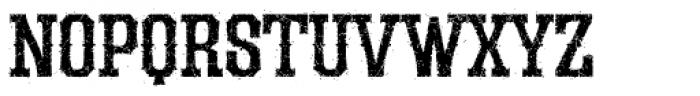 LHF Durango Distressed Font UPPERCASE