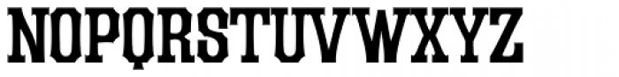 LHF Durango Regular Font UPPERCASE
