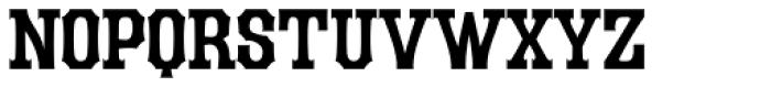 LHF Durango Regular Font LOWERCASE