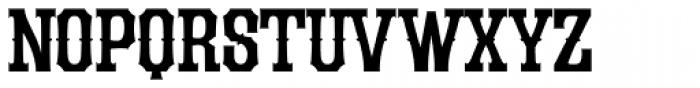 LHF Durango Spurs Font UPPERCASE