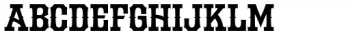 LHF Durango Spurs Font LOWERCASE