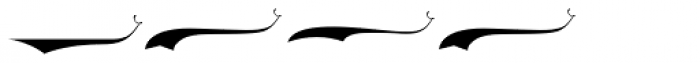 LHF Ephemera Swashes Font OTHER CHARS