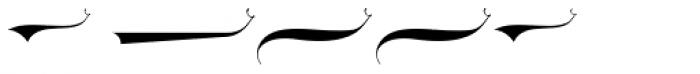 LHF Ephemera Swashes Font UPPERCASE