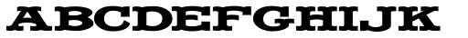 LHF Fancy Full Round Bold Font UPPERCASE