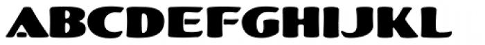 LHF Fat Cat Font UPPERCASE