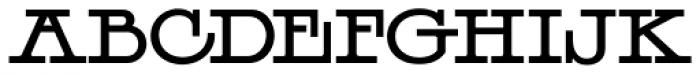 LHF Henderson Font UPPERCASE